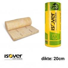 Glaswol 2200x1200x200 Rd:5,70 (=2,64 m²) - Isoconfort 35