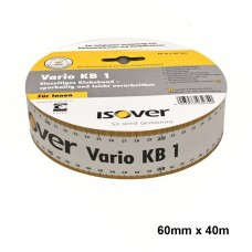 1x Isover Vario KB1 Eenzijdige Kleefband 60mmx40m