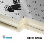 PIR Spouwplaat 1200x600x120mm Rd:5,55 4pl/pak (=2,88 m²) - Sopratherm ALU