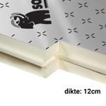 PUR Spouwplaat 12cm 1200x600mm Rd:5,55 4pl/pak (=2,88 m²) Sopratherm ALU