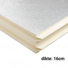 PIR Spouwplaat 14cm 1200x600mm Rd:6.35 3pl/pak (=2,16 m²) Bauder