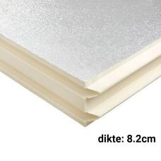PIR Spouwplaat 8.2cm 1200x600mm Rd:3.70 6pl/pak (=4,32 m²) Bauder