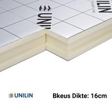 PIR plaat 1200x600x160mm Bkeus Rd:7,25 3pl/pak (=2,16 m²) - Utherm Wall