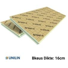 PIR plaat Bkeus 2400x1200x160mm Rd:7,25 2,88 m²/plaat - Utherm Roof Sarking K