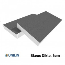 PIR plaat Bkeus 1200x600x120mm Rd:5,45 4pl/pak (=2,88 m²) -  Utherm Roof L