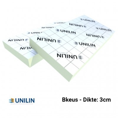 PIR plaat Bkeus 1200x600x30mm Rd:1,35 16pl/pak (=11,52 m²) - Utherm Roof L