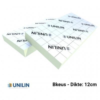 PIR plaat Bkeus 2400x1200x120mm Rd:5,45 2,88m²/plaat - Utherm Roof L