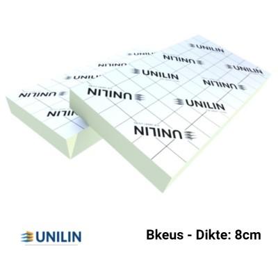 PIR plaat Bkeus 2400x1200x80mm Rd:3,60 2,88m²/plaat TG - Utherm Roof L