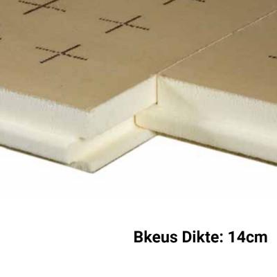 PUR Isolatieplaten 14cm Bkeus 1200x1000mm Rd:6,50 2pl/pak (=2,40 m²) - TMS Soprema