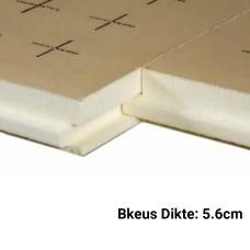 PUR Isolatieplaten 5.6cm Bkeus 1200x1000mm Rd:2,60 7pl/pak (=8,40 m²) - TMS Soprema