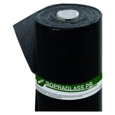 Sopraglass PB V3 TF - onderlaag/dampremmende laag - Talk(T)/folie(F) - zwart - 3mm dik - 10 m²/rol