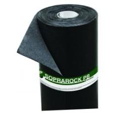 Soprarock PB P3 TF - onderlaag/dampremmende laag - Talk(T)/folie(F) - zwart - 3mm dik - 10 m²/rol