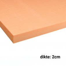 XPS Isolatieplaten 2cm dik 1250x600mm Rd:0,60 21pl/pak (=15,75 m²) Multi20 Soprema