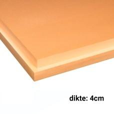 XPS Isolatieplaten 4cm dik 1250x600mm Rd:1.20 10pl/pak (=7,50 m²) SL Soprema