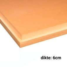 XPS Isolatieplaten 6cm dik 1250x600mm Rd:1.80 7pl/pak (=5,25 m²) SL Soprema