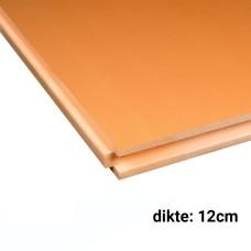 XPS CW Isolatieplaten 12cm dik 2500x600mm Rd:3,35 3pl/pak (=4.50 m²) Soprema