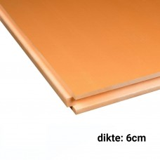 XPS CW Isolatieplaten 6cm dik 2500x600mm Rd:1,80 7pl/pak (=10,50 m²) Soprema