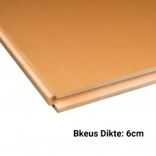 XPS CW Isolatieplaten Bkeus 2500x600x60mm Rd:1,80 7pl/pak (=10,50 m²)